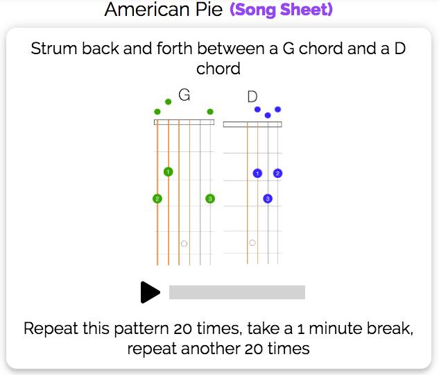 G-D Chord Transitions